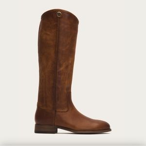 Melissa button Leather Frye Boots